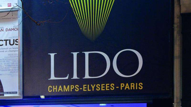 The Lido; One of the great Parisian Cabarets